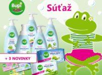 Súťaž o balíček detskej kozmetiky BUPI s prekvapením pre Vašu žabku