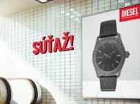 Súťažte s nami o dámske hodinky z novej kolekcie Diesel