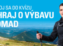 Výhrajte výbavu do hôr značky Nomad od OMV
