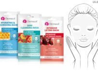 Vyhrajte 3 balíčky obsahujúce textilné 3D pleťové masky Dermacol