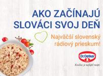 Dr. Oetker – Ako začínajú Slováci svoj deň