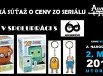 Súťaž o 4 darčeky zo seriálu Adventure Time