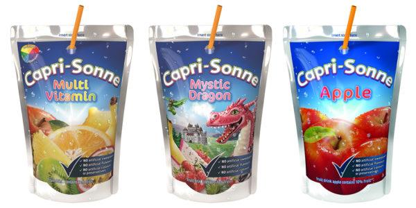 Súťažte o 3 balíčky s ovocnými nápojmi Capri - Sonne
