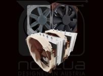 Súťaž o výborný vzdušný chladič Noctua NH-D15 a ventilátory