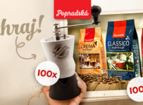 Vyhrajte 100x mlynček pravého kávičkára a balíček nových káv