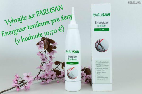 Vyhrajte 4x PARUSAN Energizer tonikum pre ženy v hodnote 10,70€