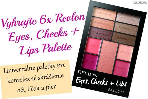 Vyhrajte 6x Revlon Eyes, Cheeks + Lips Palettes MULTILÍČIDLO