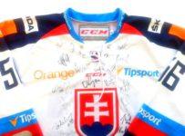 Vyhrajte dres slovenskej hokejovej reprezentácie