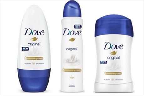 Vyhrajte nové, vylepšené Dove antiperspiranty