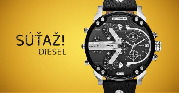Súťaž o pánske hodinky Diesel Mr Daddy