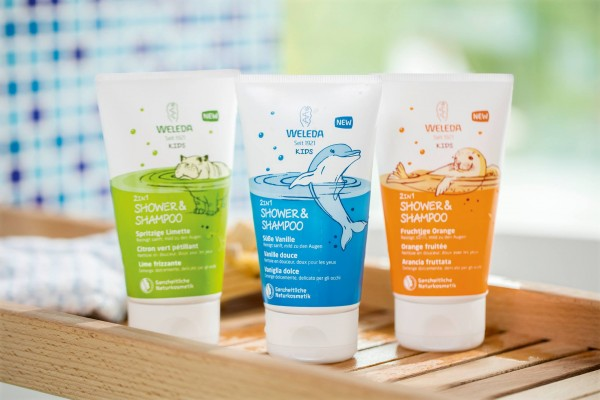 Súťaž o sprchovacie krémy a šampóny 2 v 1 pre deti od 3 rokov