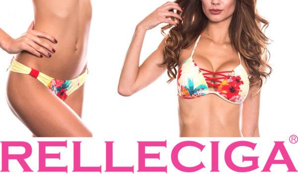Súťaž o trojuholníkové plavky s kvetinovým motívom značky RELLECIGA