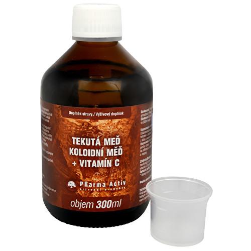 Súťaž o výživový doplnok Koloidna meď + vitamín C 300 ml