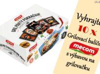 Vyhrajte 10x Grilovací balíček Mecom s výbavou na grilovačku