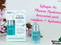 Vyhrajte 4x Pharma Hyaluron koncentrát proti vráskam + hydratácia