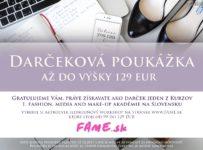Vyhrajte kurz podľa vlastného výberu v hodnote do 129€ od FAME.sk