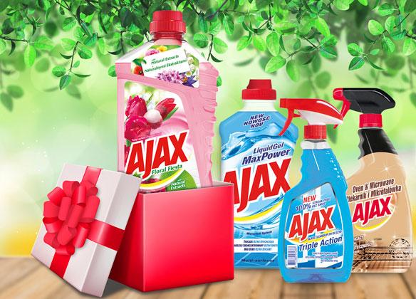 Vyhrajte balíček produktov zn. Ajax v hodnote 15 €!