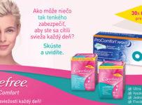 Vyhrajte 30x balíček výrobkov pre dámsku hygienu