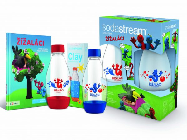Hrajte o detské sety s fľašami SodaStream a ďalšími super hračičkami
