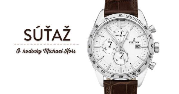 Súťaž o chronografické pánske hodinky Festina 16760/1
