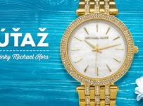 Súťaž o luxusné zlaté dámske hodinky Michael Kors