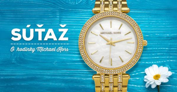 d7d9e7d3b Súťaž o luxusné zlaté dámske hodinky Michael Kors