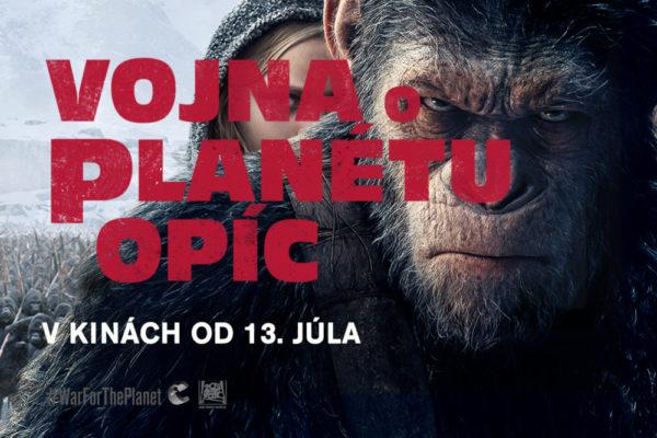 Vojna o planétu opíc – vyhraj filmový balíček!