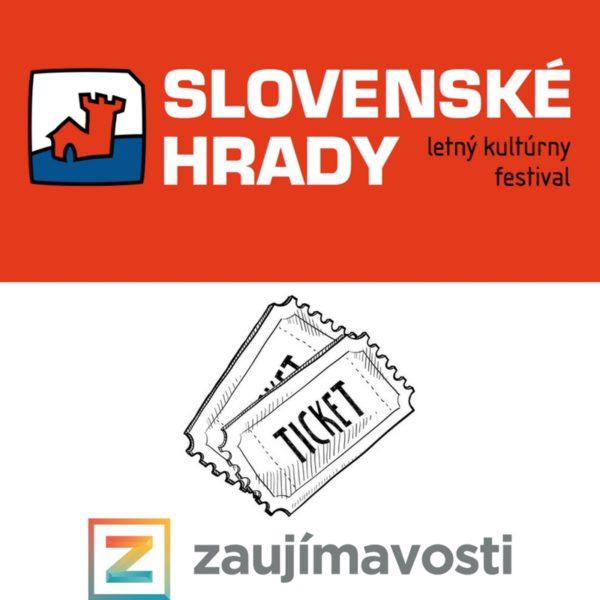 Vyhraj 2 vstupenky na festival Slovenské hrady