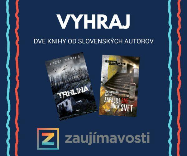 Vyhraj dve knihy od slovenských autorov