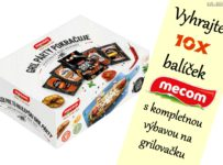 Vyhrajte 10x balíček Mecom s kompletnou výbavou na grilovačku