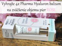 Vyhrajte 4x Pharma Hyaluron balzam na zväčšenie objemu pier ROSE
