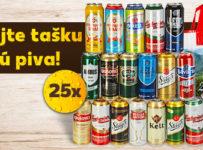 Vyhrajte tašku plnú piva s Kauflandom