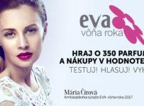 EVA Vôňa Roka 2017 - hraj o 350 parfumov a nákupy v hodnote 1500€