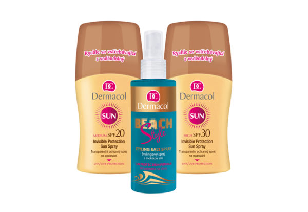 Súťažte plážový balíček s telovou a vlasovou kozmetikou Dermacol