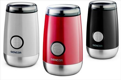 Soutěž o designový mlýnek nejen na kávu SENCOR SCG 205