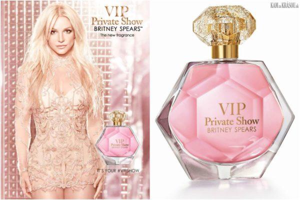 Vyhrajte 6x VIP Private Show BRITNEY SPEARS parfumovanú vodu