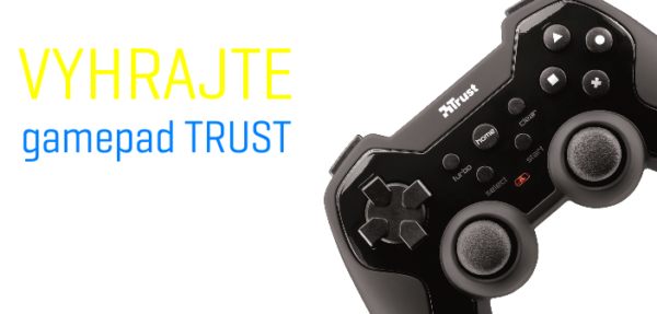 Vyhrajte gamepad Trust