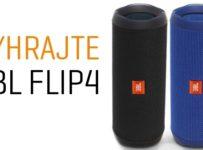 Vyhrajte prenosný reproduktor JBL FLIP 4