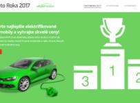 Hlasujte v ankete e-Auto Roka 2017 a vyhrajte zaujímavé ceny!