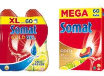 Súťaž o 3 balíčky s čistiacimi prostriedkami Somat
