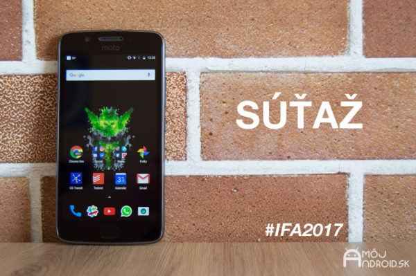 Sledujte naše sociálne siete počas IFA 2017 a vyhrajte Lenovo Moto G5