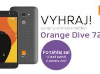 Vyhraj parádny Android smartfón Orange Dive 72