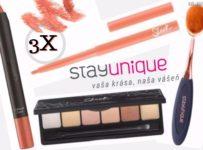 Vyhrajte 3x balíček kozmetiky od StayUnique (v hodnote 27 €)