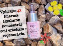 Vyhrajte 4x Pharma Hyaluron koncentrát proti vráskam + regenerácia