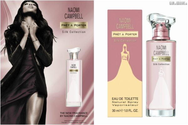 Vyhrajte 6x Naomi Campbell Prêt-à-Porter Silk Collection