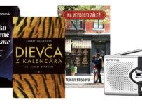 Vyhrajte knihy z vydavateľstva Ikar a prenosné vreckové rádio AM-FM Orava