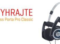 Vyhrajte slúchadlá Koss Porta Pro Classic