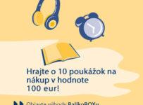 Hrajte o jednu z 10 poukážok v hodnote 100€ na nákup v Hej.sk