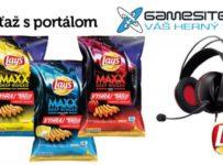 Súťaž o chipsy LAYS a headset ASUS