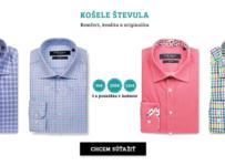 Súťaž o poukážky v hodnote 360 € na nákup kvalitných košelí